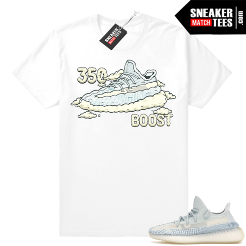 Yeezy Boost 350 Cloud White sneaker tees