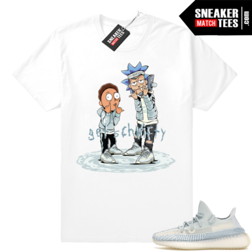 Yeezy Boost 350 Cloud White sneaker tees shirt