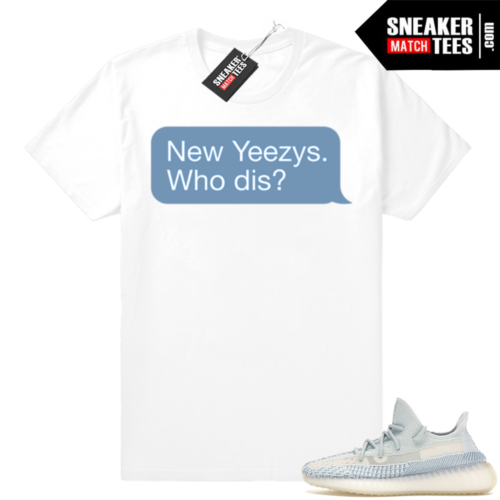 Yeezy Cloud White New Yeezys tee