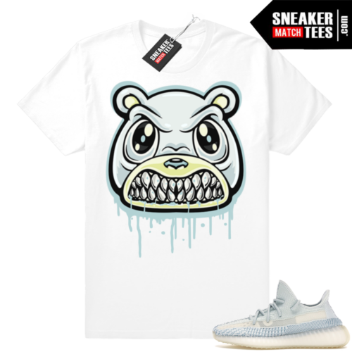 Yeezy Cloud White boost tees