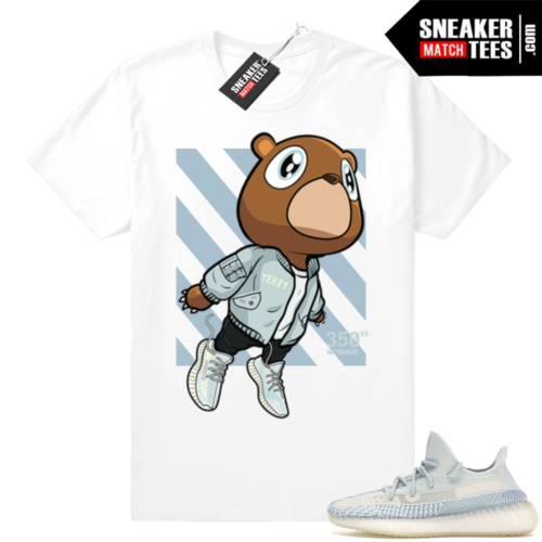 Yeezy Cloud White matching sneaker tees