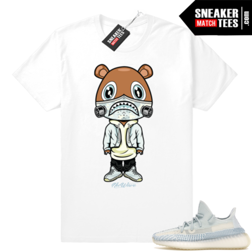 Yeezy Cloud White sneaker match shirt