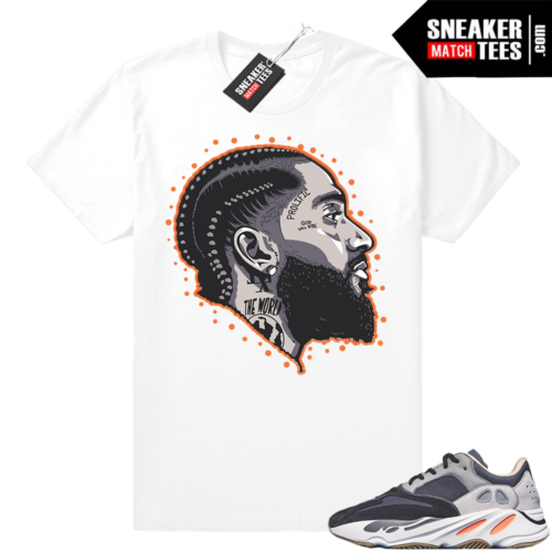 Yeezy Magnet 700 matching tees