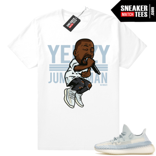 Yeezy Over Jumpman Cloud White tee