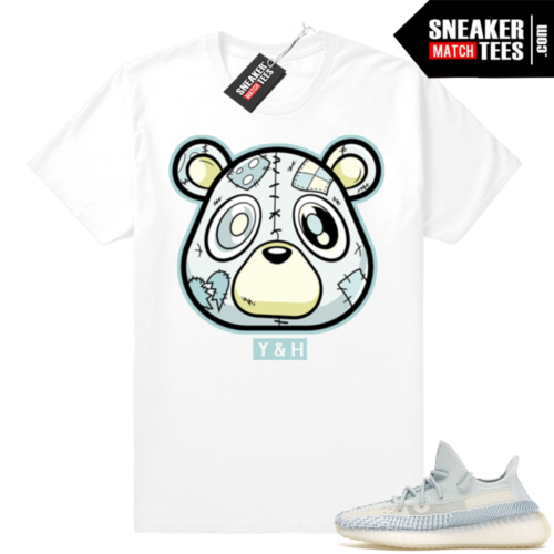 Yeezy Sneaker shirts Match Cloud White 350s