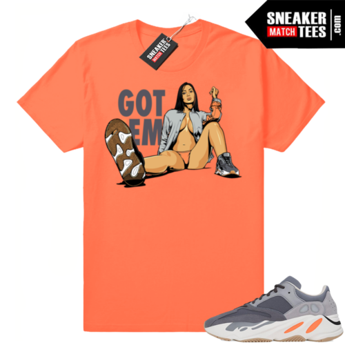 Yeezy shirts match Magnet 700s