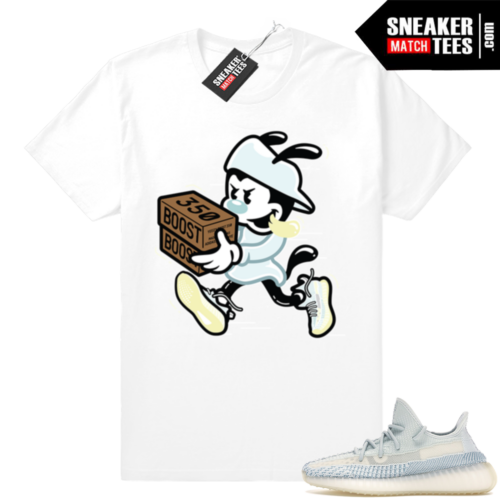Yeezy tees match Cloud White