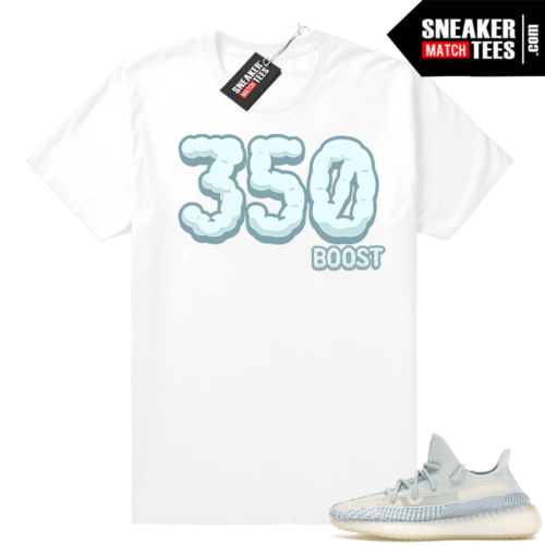 Cloud White Yeezy Boost tees