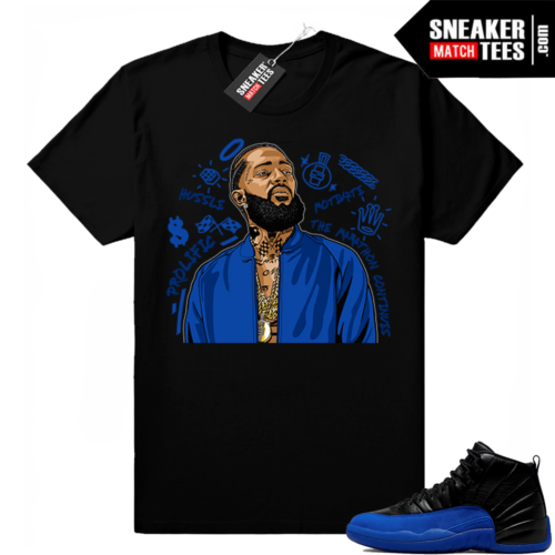 Game Royal 12s sneaker match tees