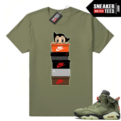 Jordan 6 x Travis Scott Sneaker Match shirts