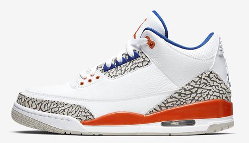 Jordan release dates Sept Knick 3s
