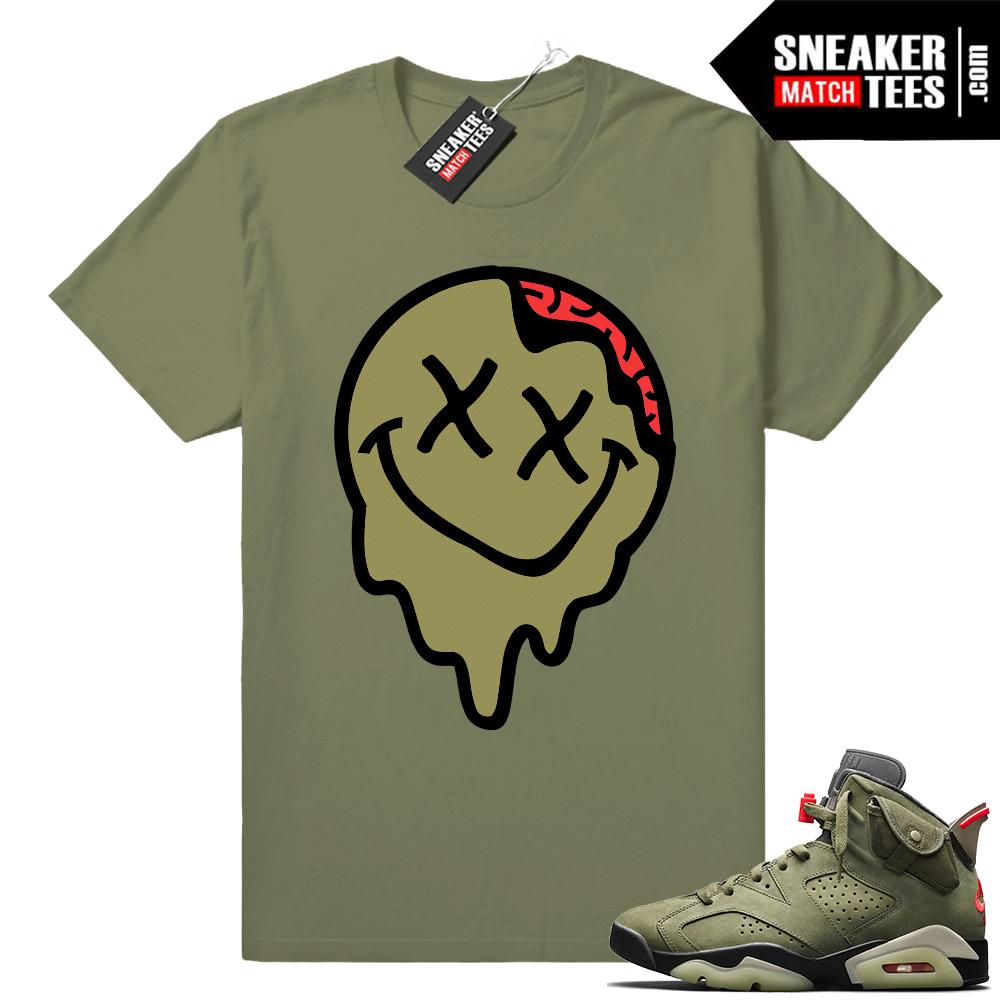 Jordan shirts Travis Scott 6s