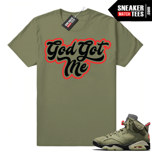 Match Travis Scott 6s shirts