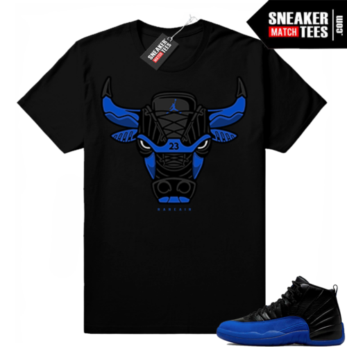 Royal 12s sneaker tees match