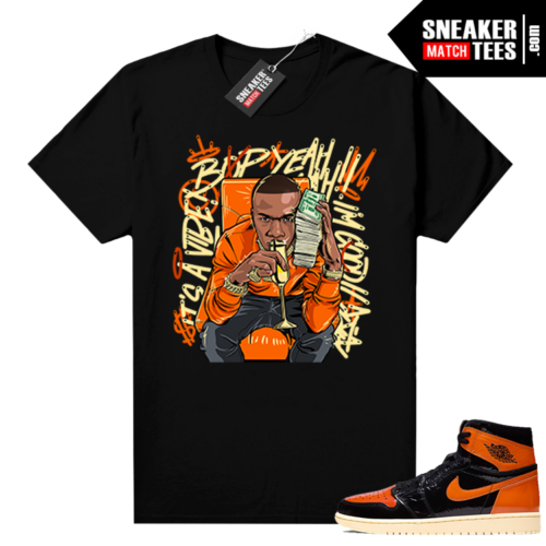 Shattered Backboard 1s 3.0 shirt black Billion Dollar Baby