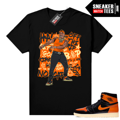 Shattered Backboard 1s 3.0 shirt black Dababy Suge CEO
