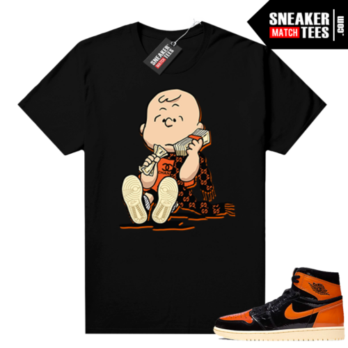 Shattered Backboard 1s 3.0 shirt black Designer Charlie
