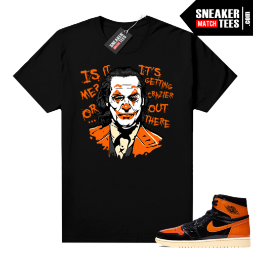 Shattered Backboard 1s 3 shirt black Joker