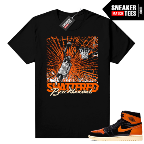 Shattered Backboard 1s 3.0 shirt black Shattered Backboard