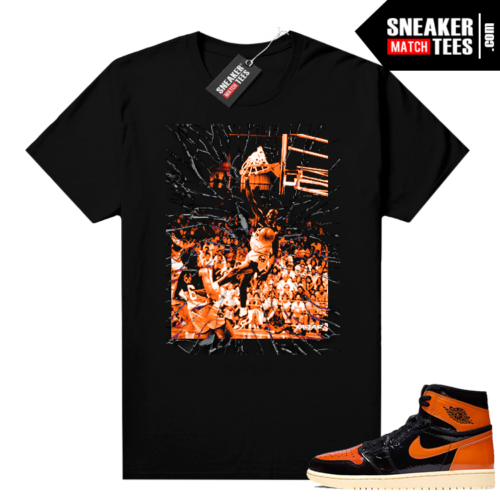 Shattered Backboard 1s 3.0 shirt black Shattered Backboard MJ