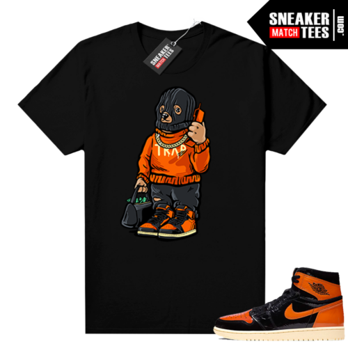 Shattered Backboard 1s 3.0 shirt black Ski Mask Trap Bear