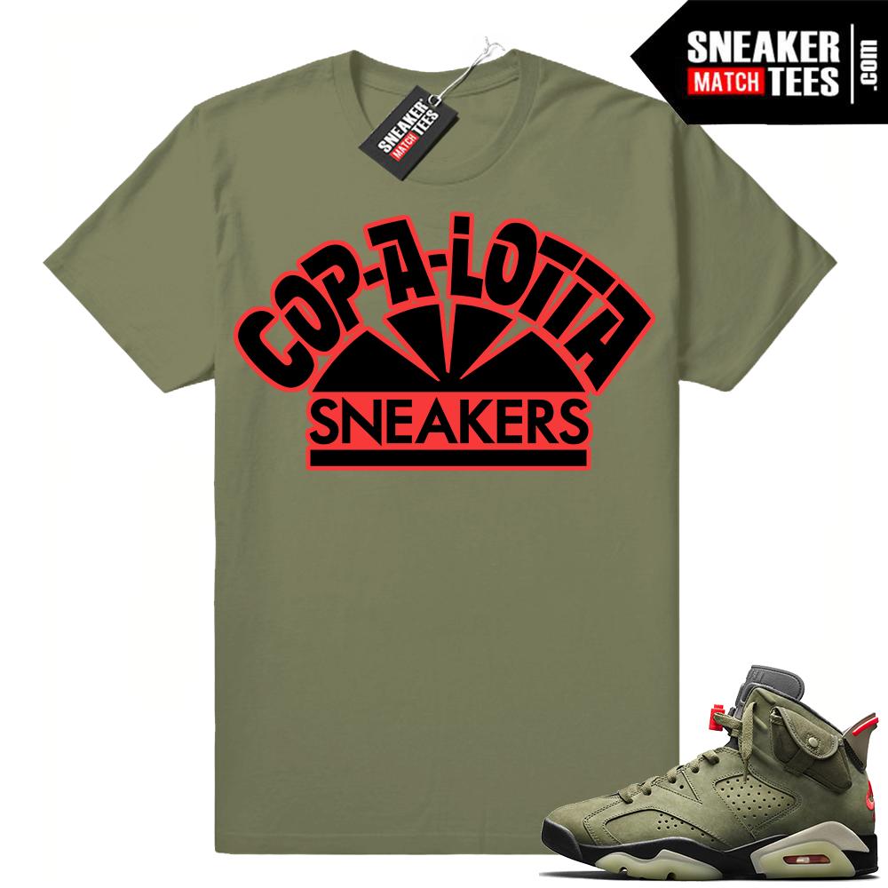 Shirt outfit match Travis Scott 6s