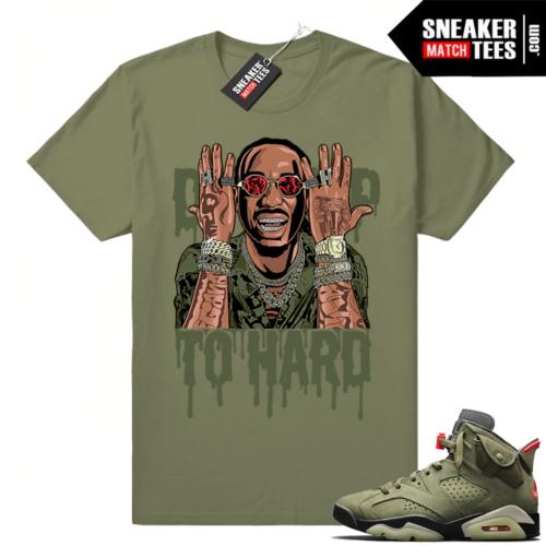 Shirts match Travis Scott 6s apparel