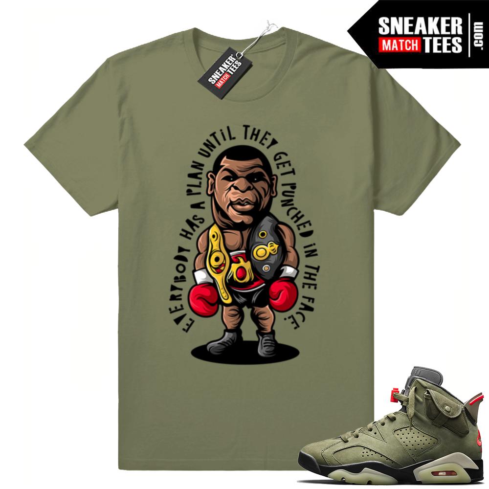Shirts to match Jordan 6 Travis Scott