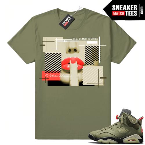 Sneaker Match Travis Scott 6s