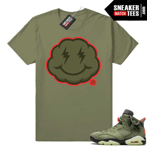 Travis Scott 6 Jordan shirt