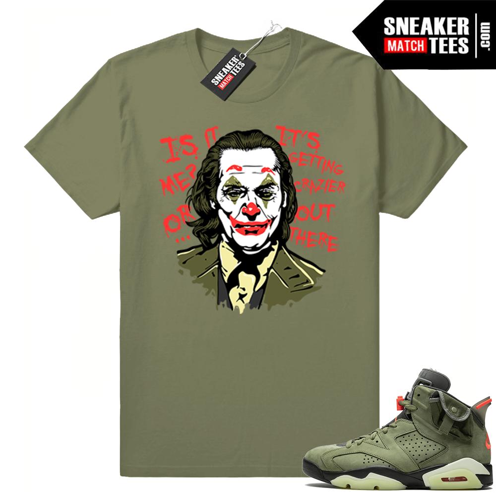 Travis Scott 6s Joker tee