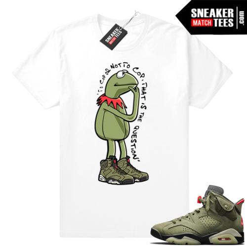 Travis Scott 6s Kermit Ponder tee
