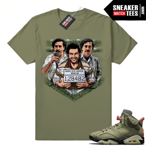 Travis Scott 6s Pablo shirt