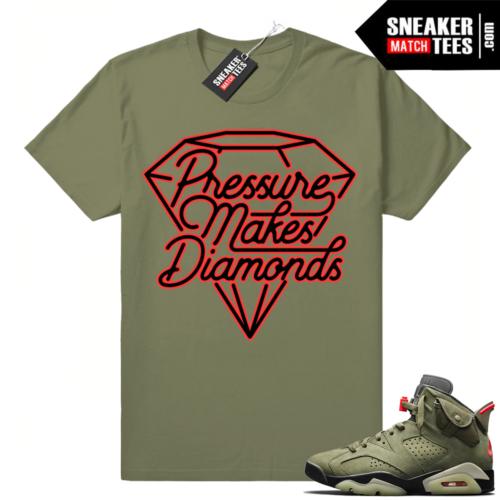 Travis Scott 6s matching apparel tees