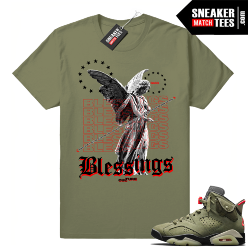 Travis Scott 6s sneaker matching clothing