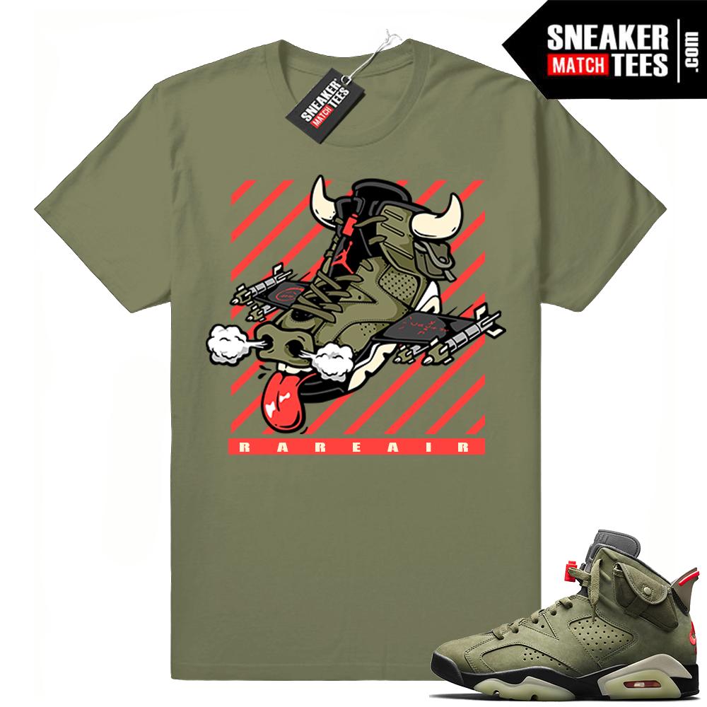 Travis Scott Air Jordan 6 shirts