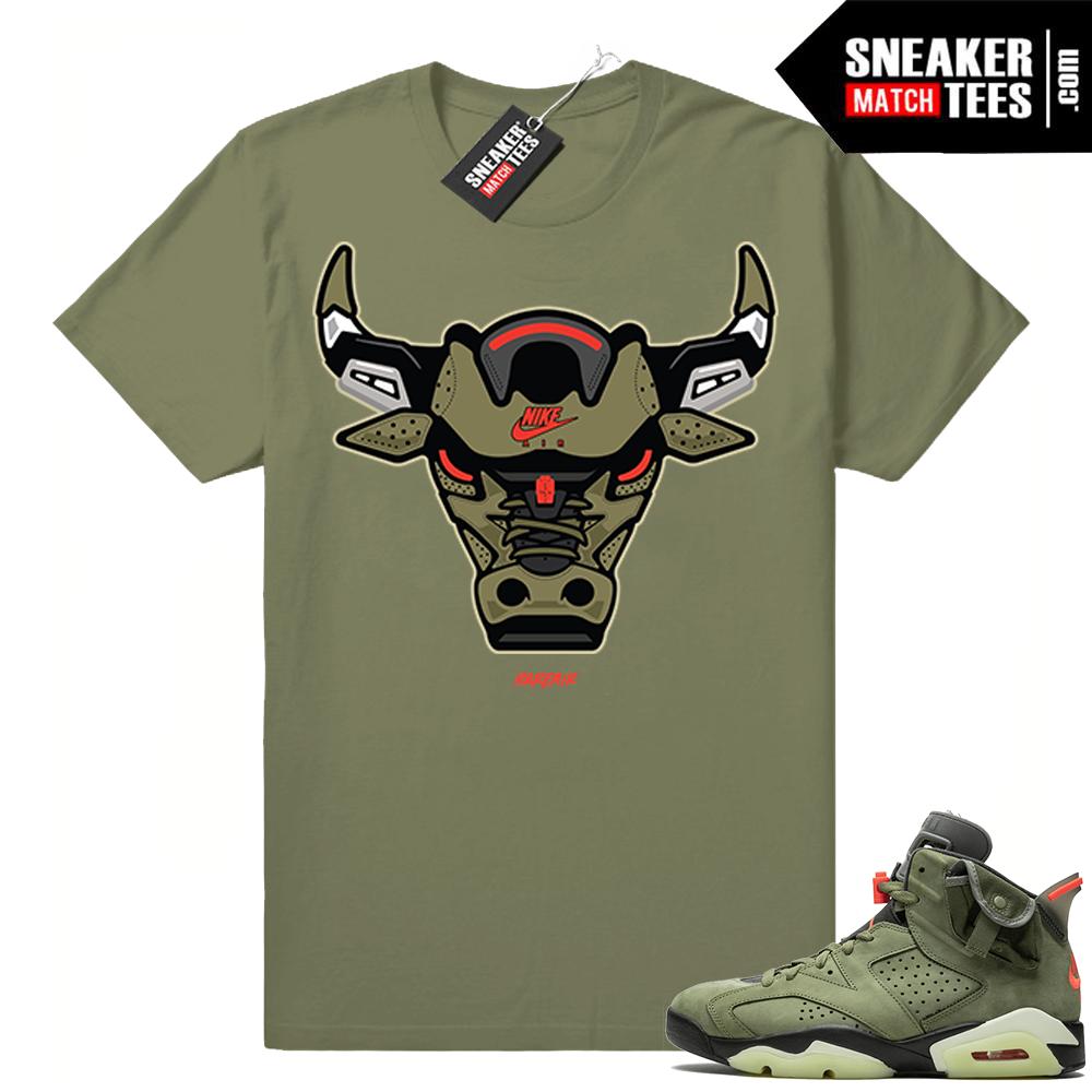 Travis Scott Jordan 6 Sneaker tees shirts