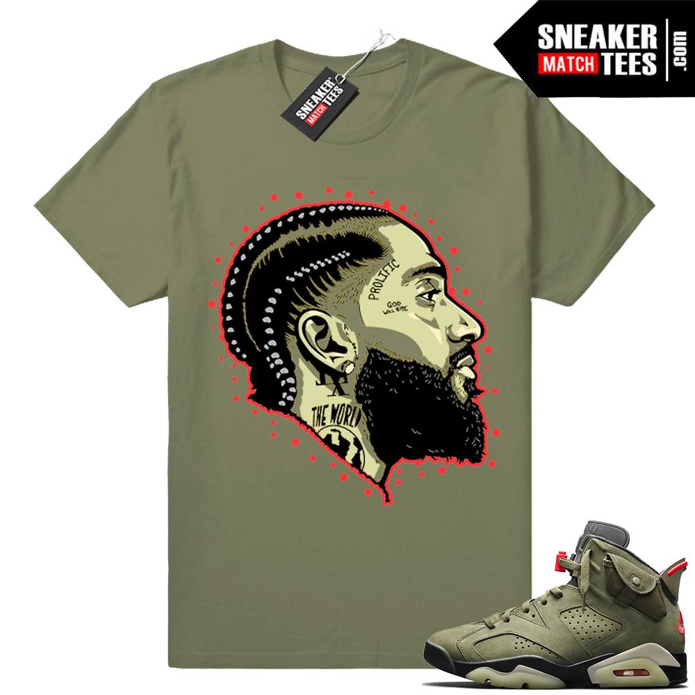 Travis Scott matching apparel Jordan 6