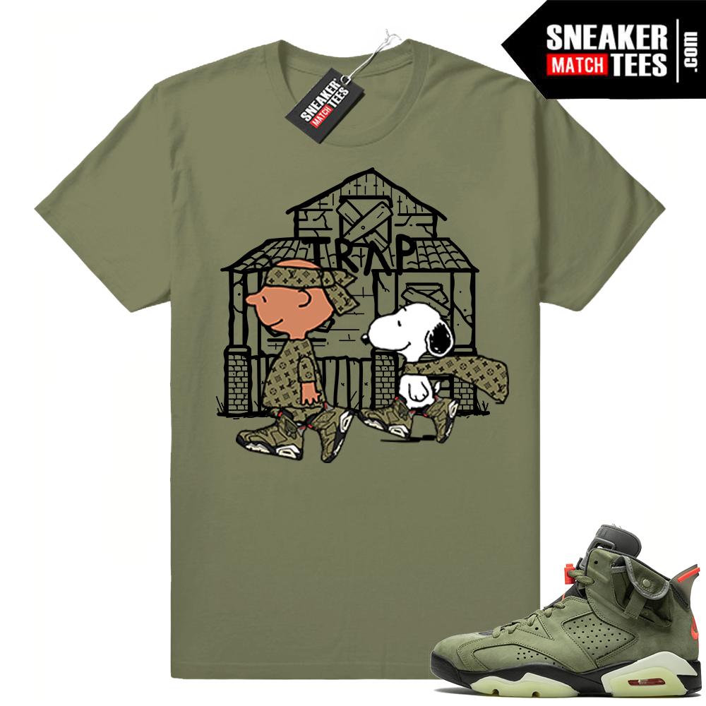 Travis Scott shirt Jordan 6