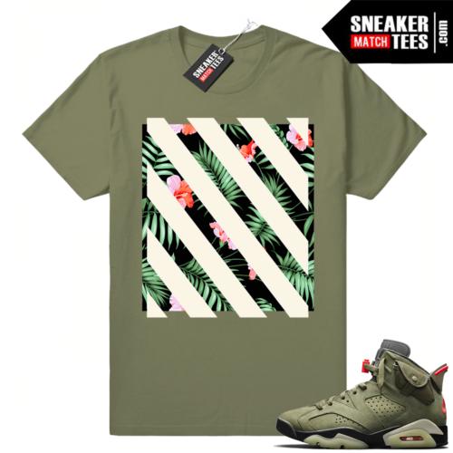 Travis Scott x Air Jordan 6 matching Clothing