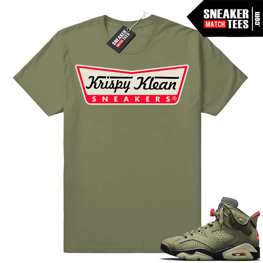 Travis Scott x Jordan 6 Sneaker clothing