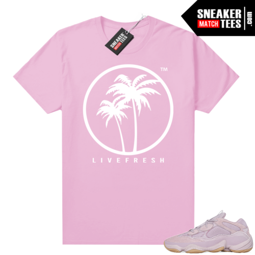 Yeezy 500 Soft Vision shirt Live Fresh Palm