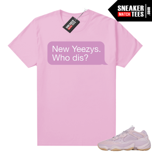 Yeezy 500 Soft Vision shirt New Yeezys