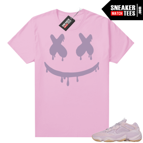 Yeezy 500 Soft Vision shirt Smiley Drip