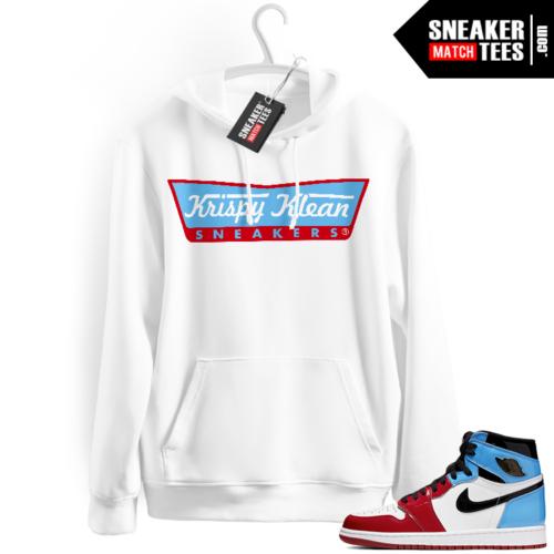 Fearless 1s Jordan Hoodies white Krispy Klean Sneakers