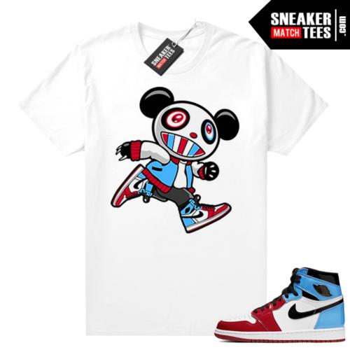 Fearless 1s shirt white Sneaker Panda