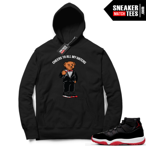 Jordan 11 Bred Hoodies Cheers