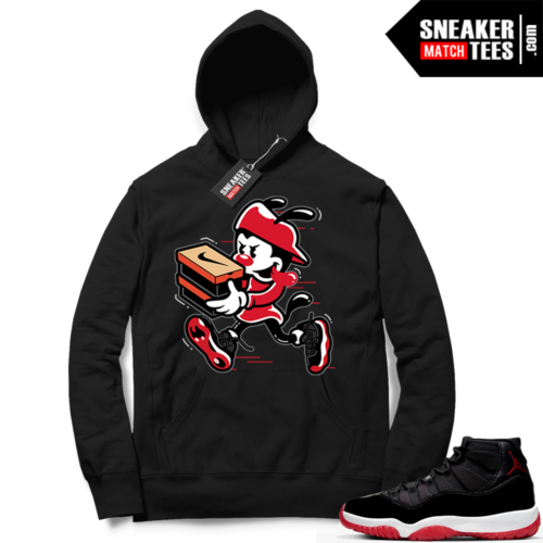 Jordan 11 Bred Hoodies Double Up