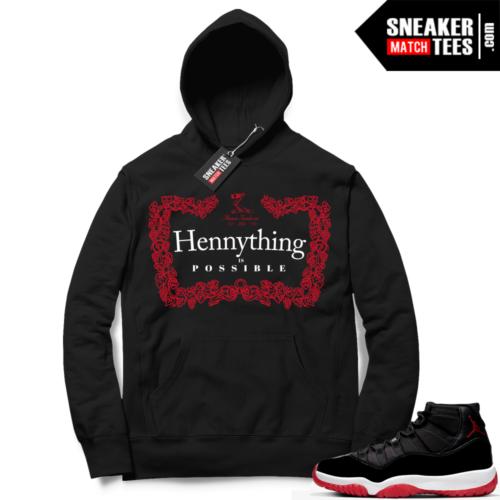 Jordan 11 Bred Hoodies Hennything