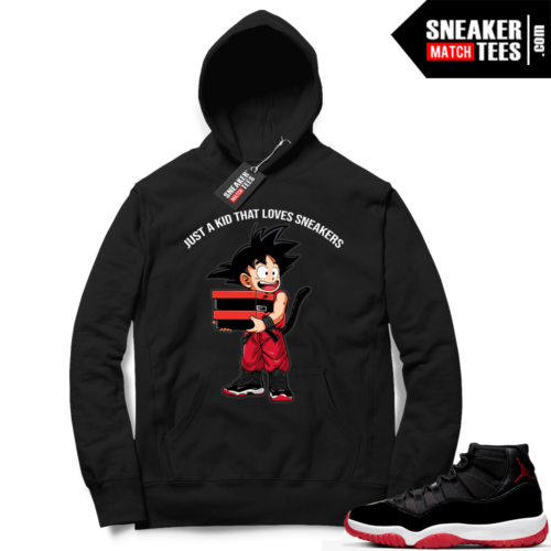 Jordan 11 Bred Hoodies Just A Kid